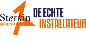 Sterkin erkend, de echte installateur - Erkenningen en dealerships - Installatiebedrijf Webo Driebergen